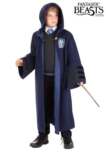 Harry Potter Vintage Hogwarts Ravenclaw Robe For Kids