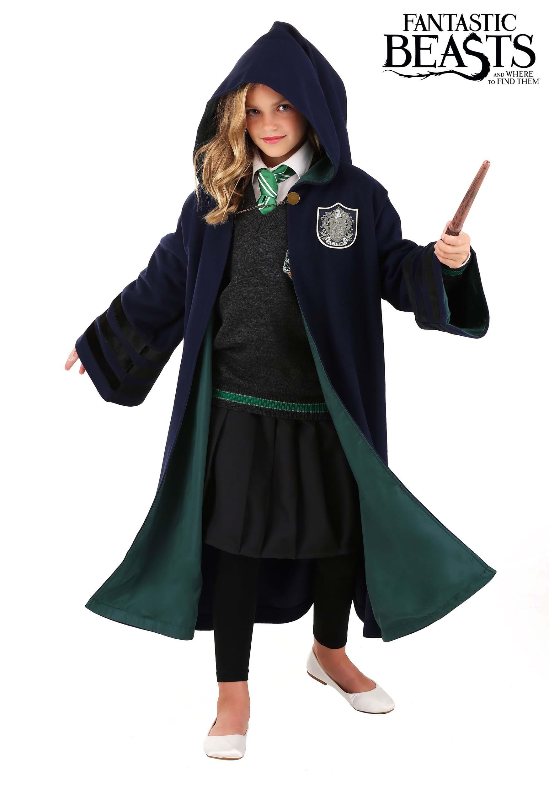 Harry Potter Vintage Slytherin Robe For Children