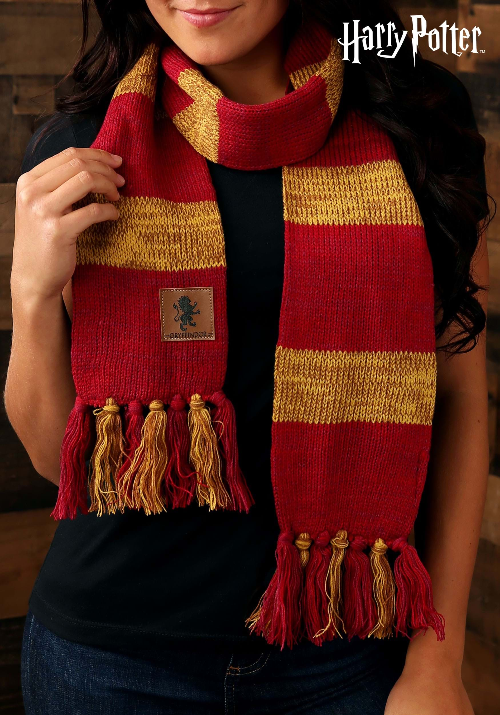 harry potter vintage hogwarts gryffindor scarf