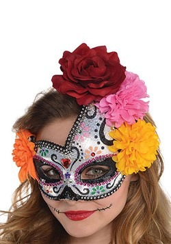 Women's Sugar Skull Mask