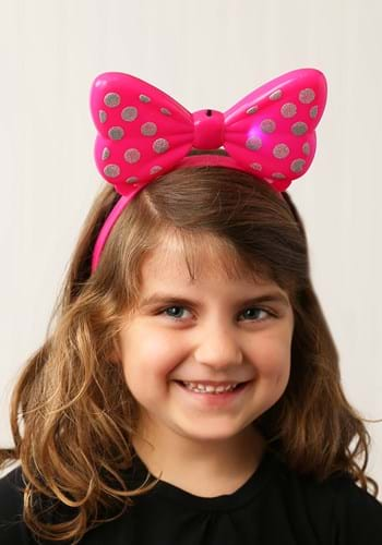 Click Here to buy Minnie Mouse Light Up Headband from HalloweenCostumes, CDN Funds