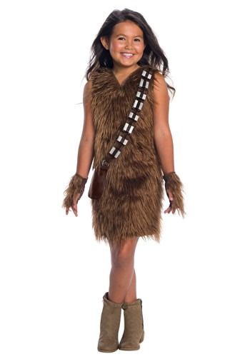 Star Wars - Girls Deluxe Chewbacca Dress