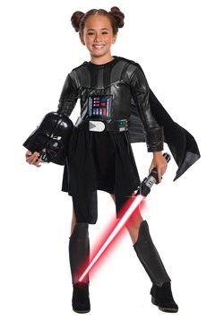 Star Wars Girls Deluxe Darth Vader Dress