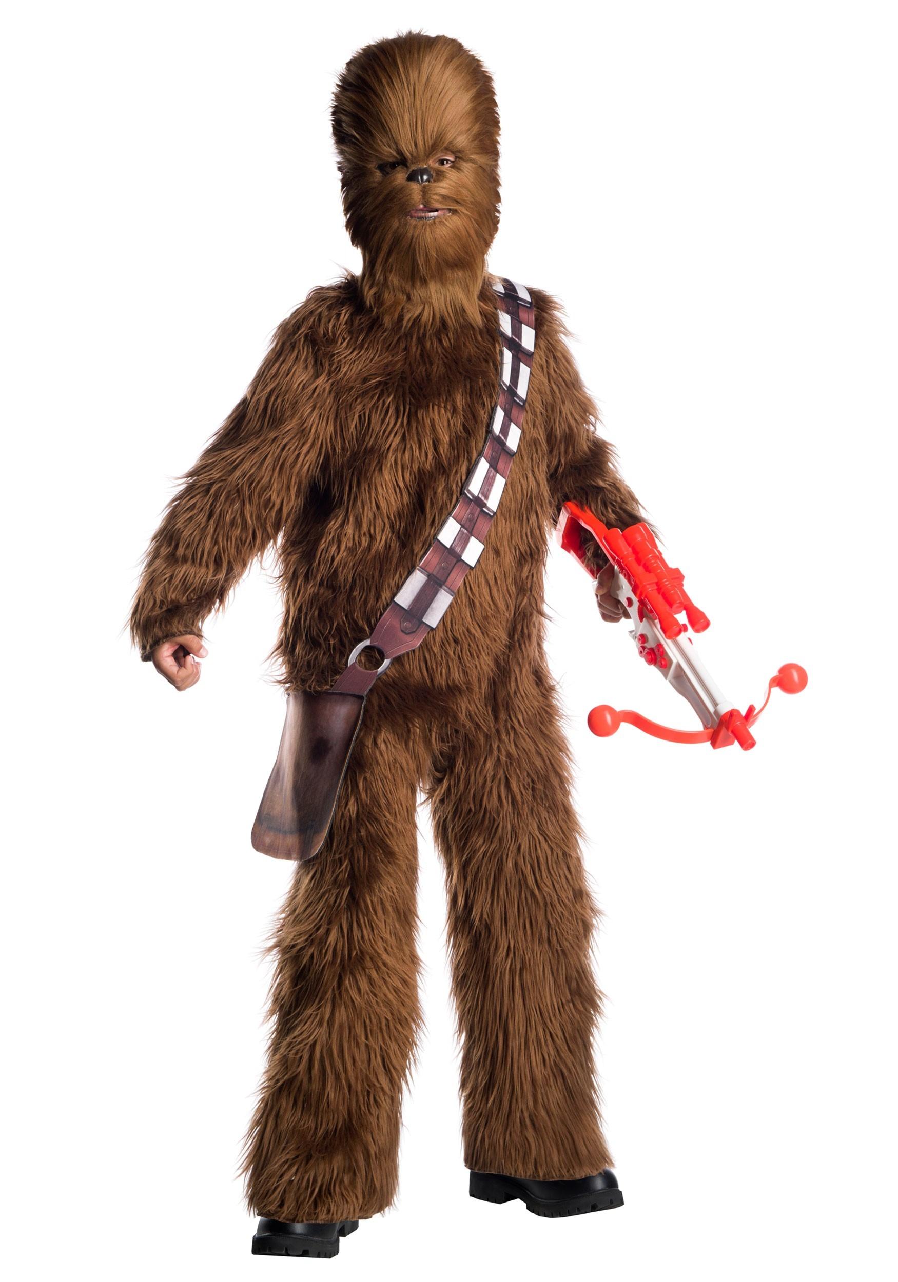 Chewbacca Costume Kids Star Wars Halloween Fancy Dress