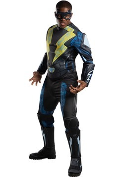 Black Lightning Adult Deluxe Costume