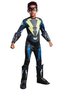 Black Lightning Child Deluxe Costume