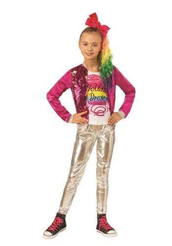 Girls JoJo Siwa Hold the Drama Costume