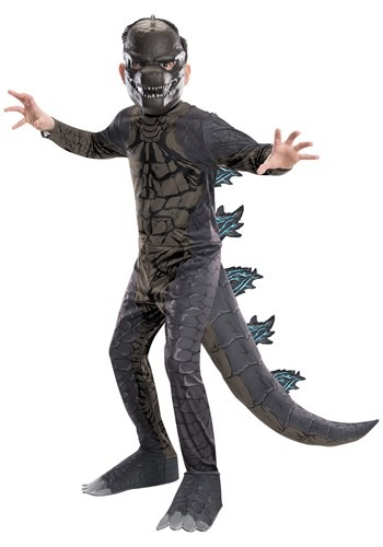 Click Here to buy Godzilla King of the Monsters Classic Kids Costume from HalloweenCostumes, CDN Funds