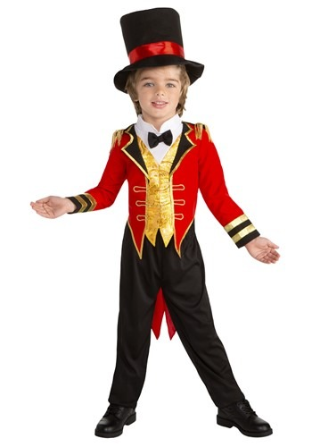 Toddler Circus Leader Ringmaster Costume