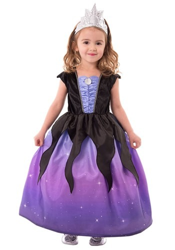 Click Here to buy Girls Sea Witch Costume Kids from HalloweenCostumes, CDN Funds