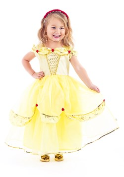 Girls Yellow Beauty Costume