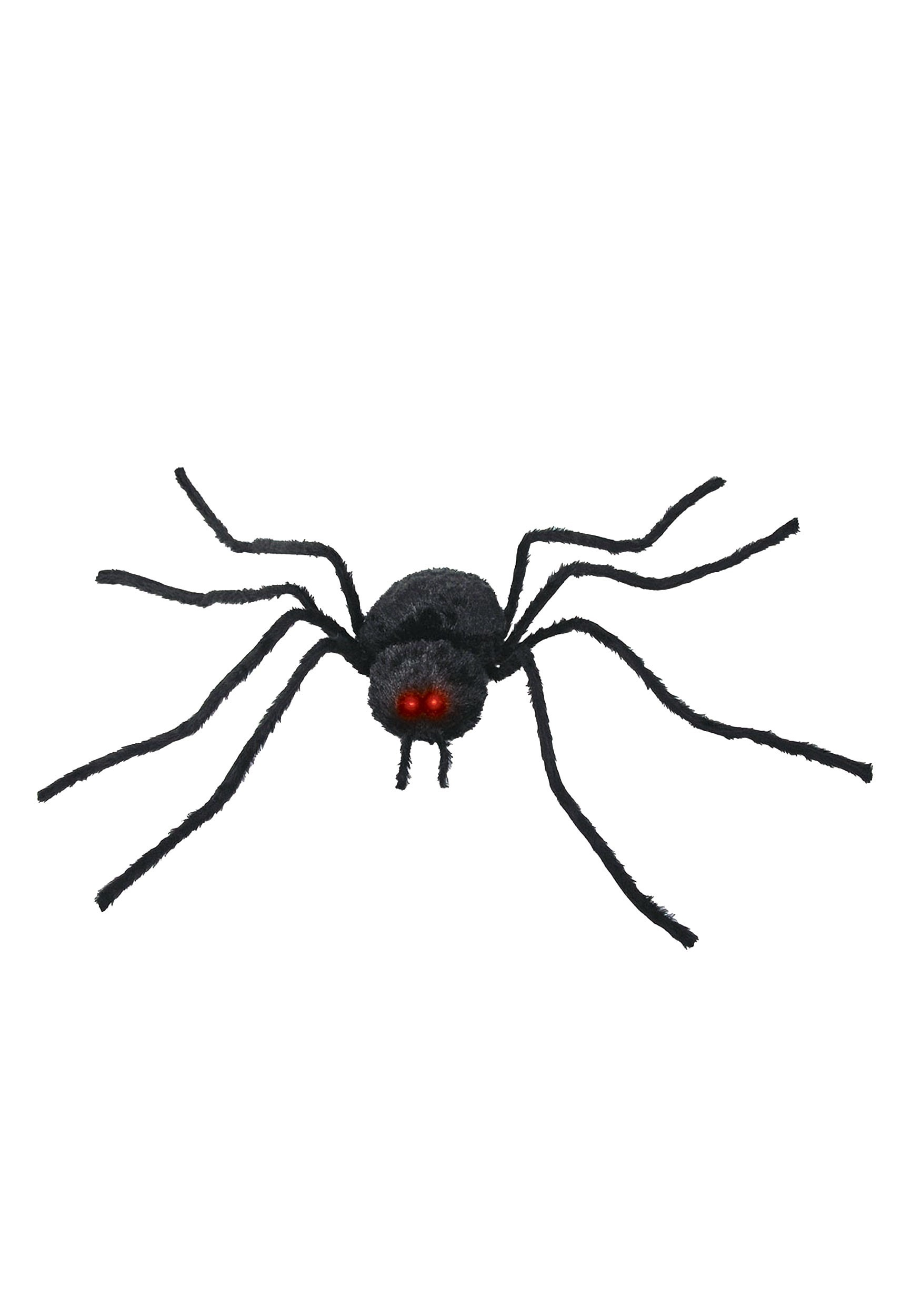 Black Animated Spider