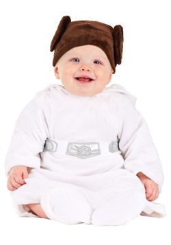 Star Wars Princess Leia Infant Costume New