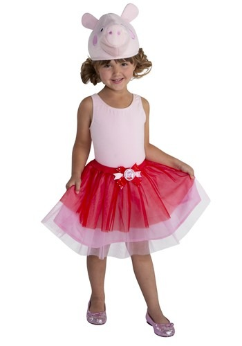 Girls Peppa Pig Ballerina Accessory Kit