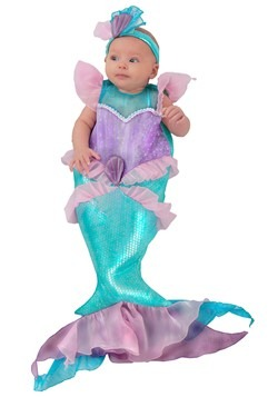 Infant Mini Mermaid Costume