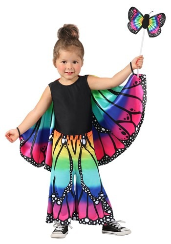 Child Rainbow Butterfly Pants