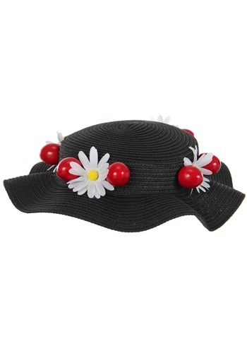 Mary Poppins Black Hat Accessory