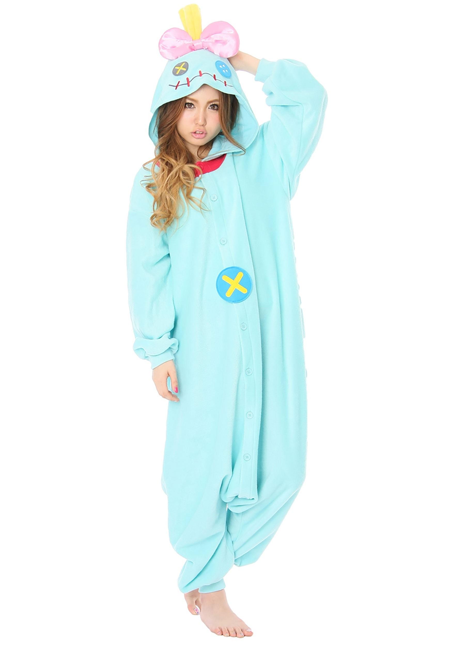 Lilo Stitch Adult Scrump Kigurumi Onesie Costume
