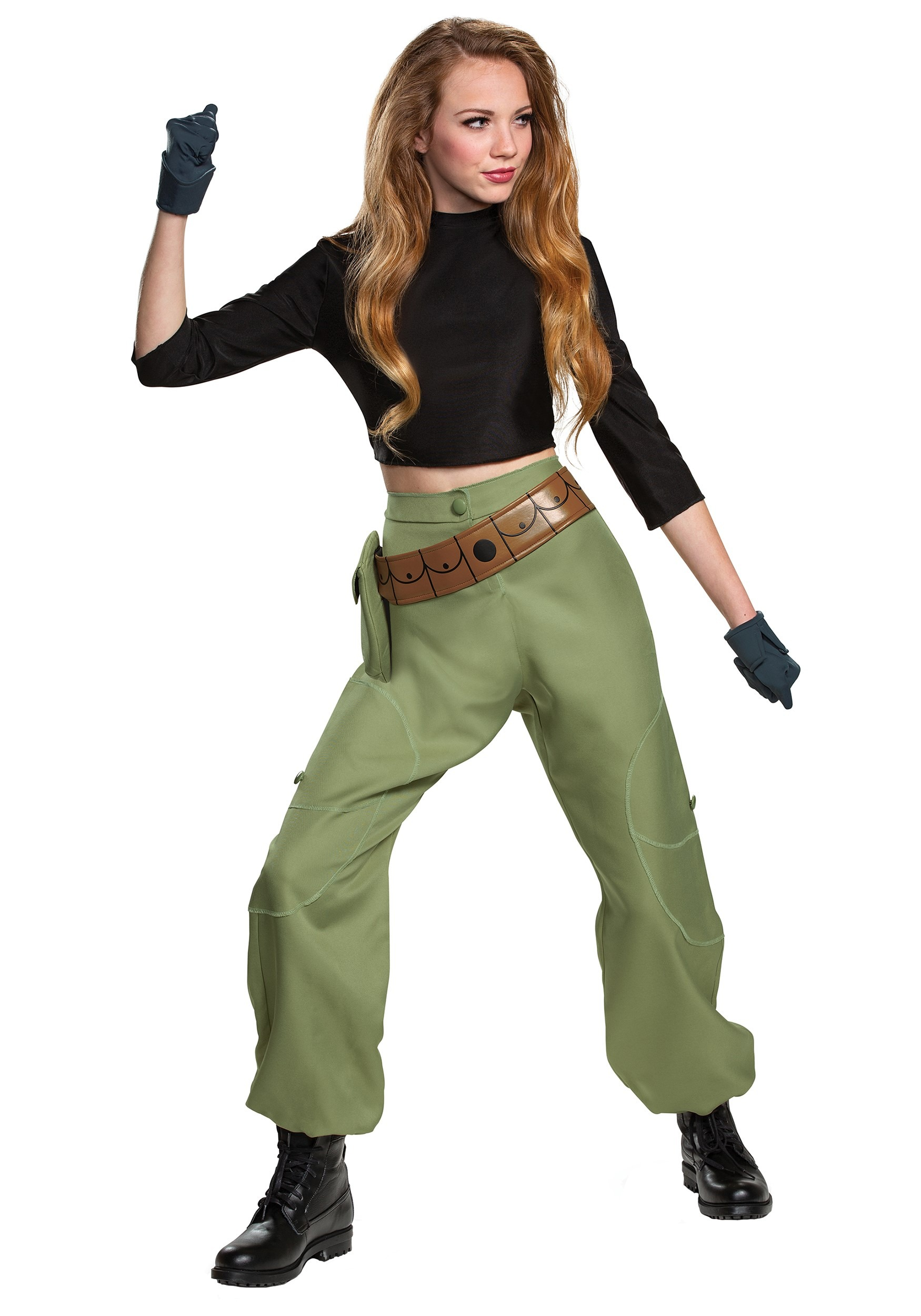 Kim Possible Animated Series Women\u0027s Kim Possible Costume