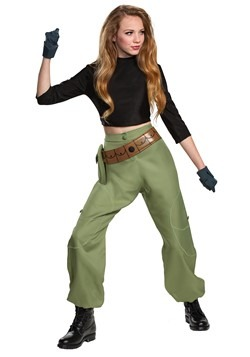 Kim Possible Animated Series Womens Kim Possible Costume