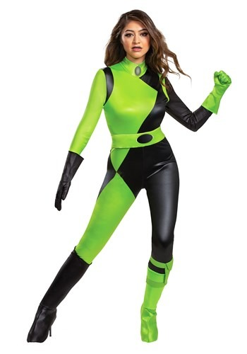 Kim Possible Animated Series Womens Shego Costume