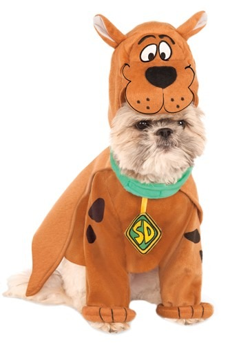 Click Here to buy Scooby Doo Scooby Costume for Pets from HalloweenCostumes, CDN Funds
