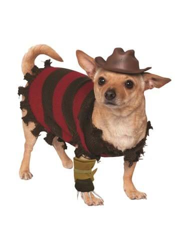 Pet Costume Freddy Krueger
