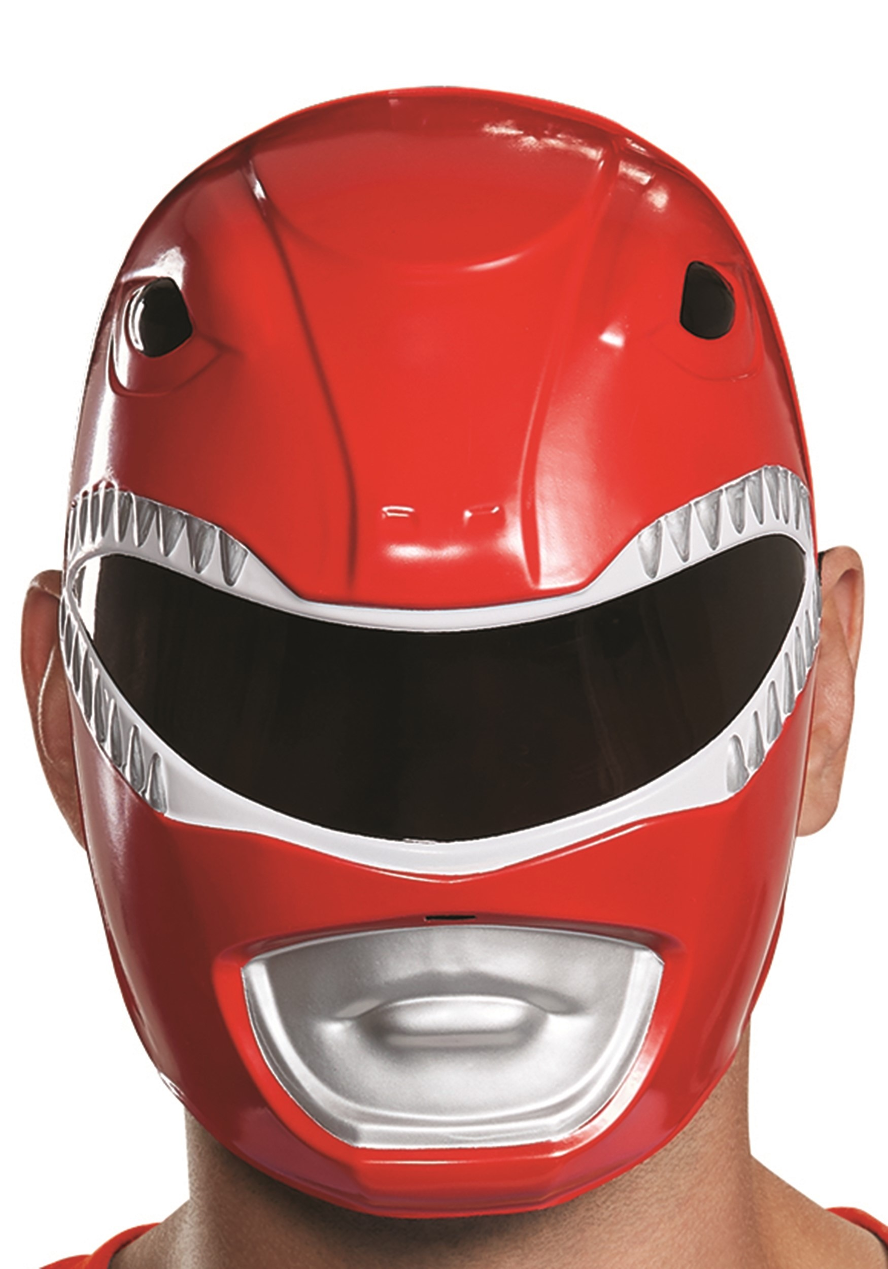 Disguise Mens Red Ranger Adult Mask