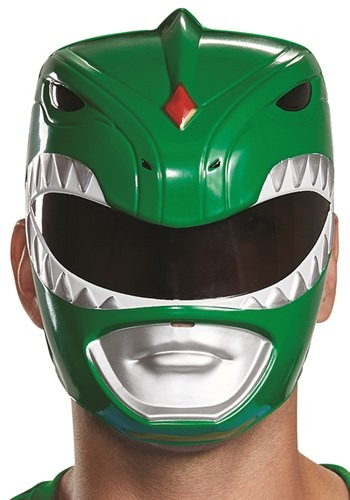 Adult Green Ranger Mask Power Rangers