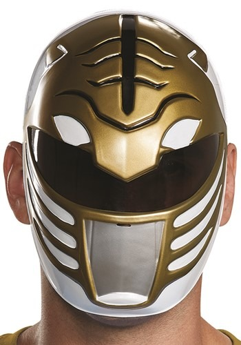Click Here to buy Adult Power Rangers White Ranger Mask from HalloweenCostumes, CDN Funds