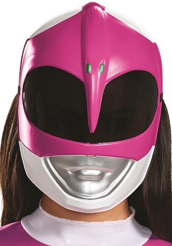Click Here to buy Power Rangers Adult Pink Ranger Mask from HalloweenCostumes, CDN Funds