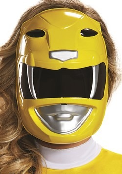Power Rangers Adult Yellow Ranger Mask