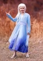 Frozen 2 Elsa Prestige Costume for Girls alt1