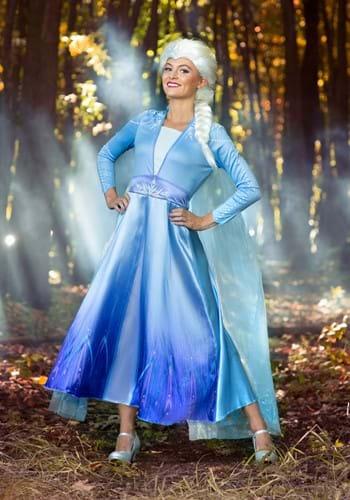 Frozen 2 Womens Elsa Deluxe Costume upd