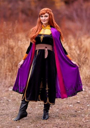 Disney Frozen 2 Deluxe Anna Womens Costume
