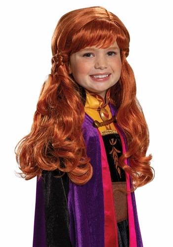 Girls Frozen 2 Anna Wig UPD