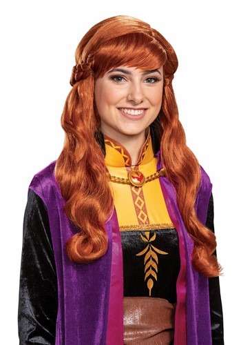 Frozen 2 Adult Anna Wig