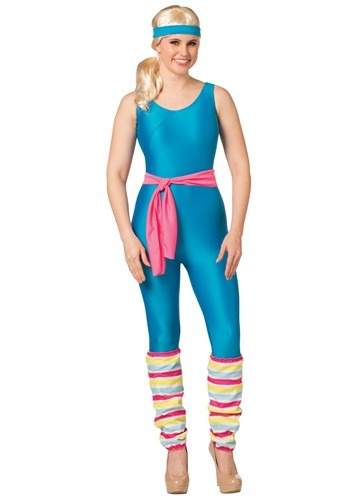 Barbie Womens Exercise Barbie Costume