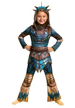 Girls How to Train Your Dragon Astrid Classic Costume