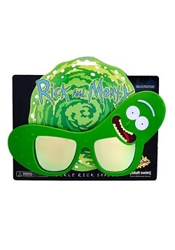 Rick and Morty Pickle Rick Glasses