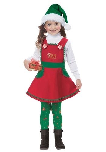 Toddler Elf in Charge Costume