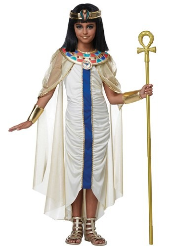 Click Here to buy Nile Princess Girls Costume from HalloweenCostumes, CDN Funds
