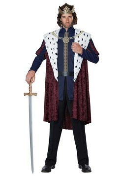 Men's Royal King Costume