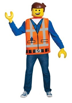 Lego Movie 2 Adult Emmet Classic Costume