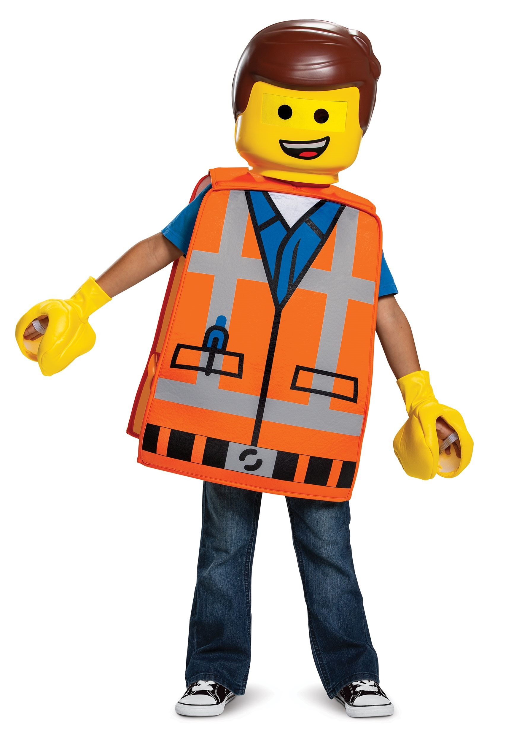 Lego Movie 2 Emmet Basic Costume For Toddlers