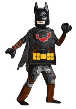 Lego Movie 2 Child Batman Deluxe Costume