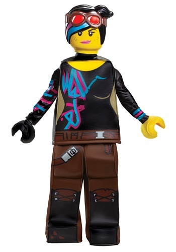 Lego Movie 2 Girls Lucy Prestige Costume