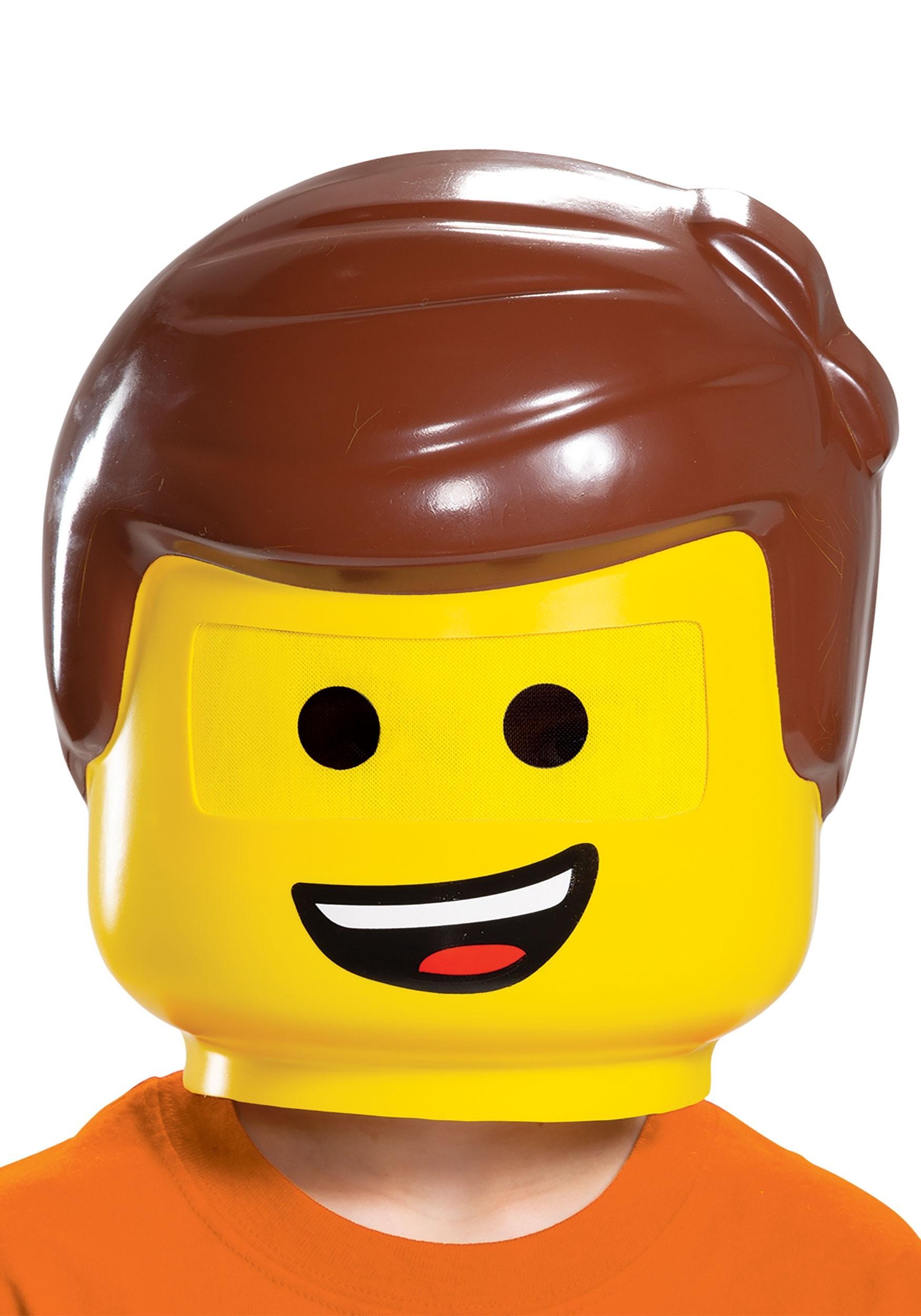 Lego Movie 2 Emmet Mask For Kids