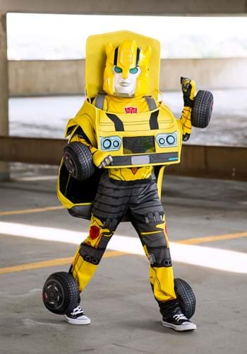 Transformers Bumblebee Converting Costume