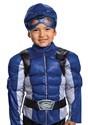 Kids Power Rangers Beast Morphers Blue Ranger Costume alt 2